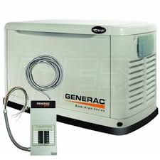 generac guardian 5871 10kw standby generator system 100a 12