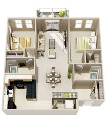 3 Bedroom House Designs 12 Best 2 Bedroom 3d Apartment Images On Pinterest Architecture