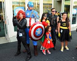 the avengers super family comic con 2013 the best costumes