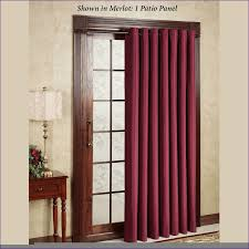 Insulated Kitchen Curtains by Furniture Glass Door Treatments Curtain Patio Window Drapes
