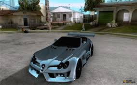 mercedes benz silver lightning mercedes benz slr mclaren 722 cabrio tuned for gta san andreas