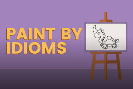 paint by idioms a game on funbrain