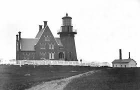 Black Island Light Block Island Southeast Lighthouse Rhode Island At
