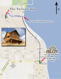Bear Lake Utah Map by Bear Lake Cabin Rentals Taylor In Harbor Village U2013 Bear Lake
