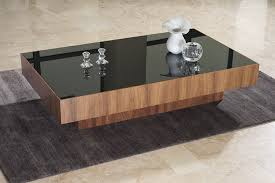 Woodwork Design Coffee Table by Captivating Modern Wood And Glass Coffee Table In Furniture Home