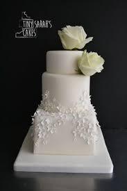 Wedding Cake Buttercream Cake Fresh Flowers Mini Eden Roses