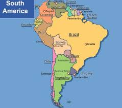 south america map quiz capitals countries south american