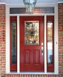 Exterior Door With Side Lights Doors With Glass Metal Door Exterior Fiberglass Custom Entry Doors