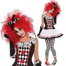 Couples Jester Halloween Costumes Jester Fancy Dress Ebay