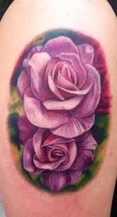 33 awesome purple rose tattoos images pictures and ideas