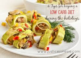 4 tips for keeping your low carb diet during the holidays