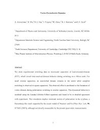 vortex ferroelectric domains pdf download available
