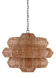 chandelier chandelier raffia decor spring interior design trend