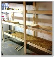 diy basement storage shelves build this basement storage in one