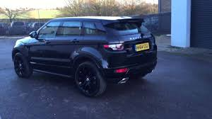 land rover range rover evoque 2016 range rover evoque dynamic black edition youtube