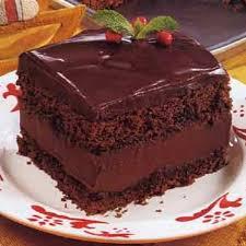 mocha layer cake with chocolate rum cream filling recipe