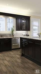 dark kitchen cabinets with dark hardwood floors kitchen cabinet