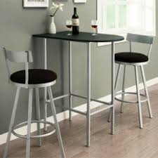 Kitchen Bar Table And Stools Space Saver Bar Stool Foter
