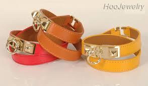 hermes bracelet leather images Hermes h bracelet black enamel and gold clic clac wide narrow for sale JPG