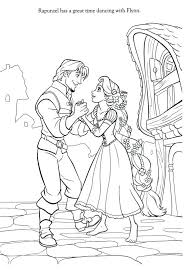 rapunzel tangled coloring pages free barbie games easy romantic
