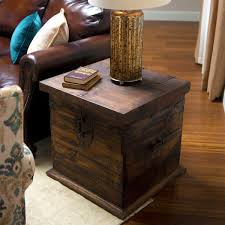trunk style bedside tables furniture trunk bedside table style tables metal tree leather
