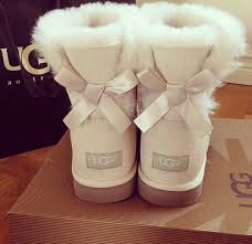 ugg bailey bow boots on sale shoes ugg boots ugg boots ugg boots creme boots boots bows