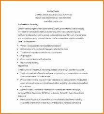 coordinator resume resume cv cover letter