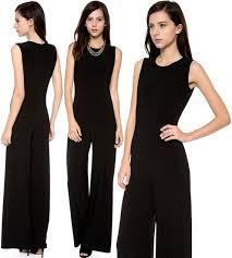 norma kamali jumpsuit norma kamali kamali kulture sleeveless jumpsuit of a dress