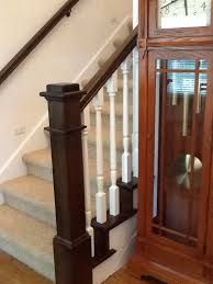 Mahogany Banister Stair Gallery Heritage Stairs