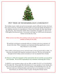 cremation tree pet tree of remembrance ceremony 2015 dejohn pet cremation pet