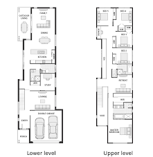 large floor plans narrow but large 2 storey home with 5 bedrooms plus a study and 3