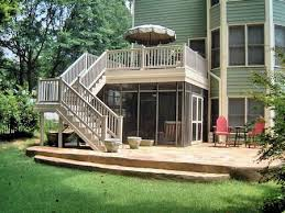 Deck With Patio Designs Patio Deck Ideas Designs Best Home Design Fantasyfantasywild Us