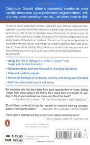 Good Skills To Put On A Resume Getting Things Done The Art Of Stress Free Productivity David