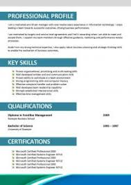 Sample Resume Formats For Freshers by Sample Fresher Resume Resume Cv Cover Letter It Freshers Simple
