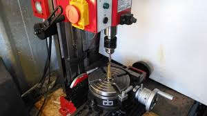 Harbor Freight Rotary Table by Using A Rotary Table On A Mill Youtube