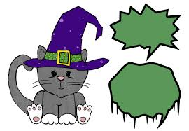 Halloween Kitty by Eri Doodle Designs And Creations Meow Says The Halloween Kitty