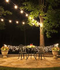 hanging light strands with how to plan and hang patio lights 9