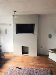 building a false chimney breast life as mrs carrick