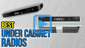 Bose Kitchen Radio Under Cabinet by Kitchen Radio Under Cabinet Youtube Under Cabinet Kitchen Radios