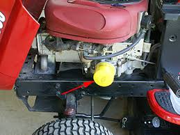 how to change engine oil on a craftsman lawn tractor with 18 hp
