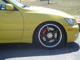 2001 lexus is300 yellow finally got the trd bbk on lexus is forum