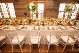 table rentals ta boathouse rustic table top wedding decor with light