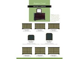 Avignon Bedroom Furniture by Palettes By Winesburg Bedroom Mirror 2 02302 Hatch Furniture