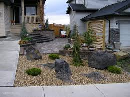 Small Rock Garden Design by Unique Small Backyard Landscaping Ideas With Rocks Garden Design