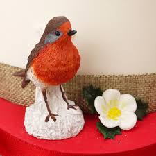 Christmas Cake Decorations Robin by Christmas Cake Toppers