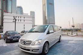 mpv van half day private limousine van chauffeured service mercedes viano