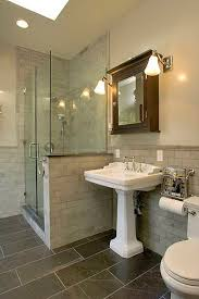Stone Floor Bathroom - lafayette square historic home xlart group