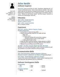 best template for resume template resume jmckell