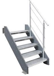treppen gitterroste verzinkte stahl treppen für den außenbereich