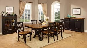 Round Formal Dining Room Sets Annie Oakley U0027s Wood Furniture